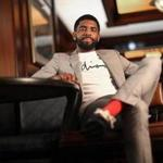 FOR FUTURE LIVING ARTS STORY Boston, Ma., 06/12/18, Boston Celtics star Kyrie Irving has a movie coming out.