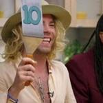 "Rapper Mod Sun (left) and comic Ngaio Bealum were the judges on the premiere of ""Cooking on High."""