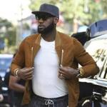 FILE - In this Sept. 9, 2017, file photo, executive producer LeBron James attends a premiere for