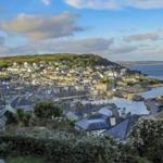 The port and village of Mousehole in Cornwall.