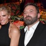 Lindsay Shookus and Ben Affleck attended the HBO's Official 2017 Emmy After Party at The Plaza at the Pacific Design Center.