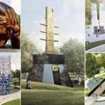 King Boston has named five finalists in the competition to design the Boston Common memorial.