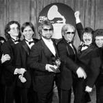 Toto at the 1983 Grammy Awards (from left): Jeff Porcaro, Steve Porcaro, Michael Porcaro, Dave Paich, Dave Herngate, Bobby Kimball and Steve Lukather.