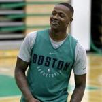 Terry Rozier is entering his fourth season with the Celtics