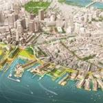 An image of a long-planned, but never formally-proposed, skyscraper developer Don Chiofaro wants to build on the downtown Boston waterfront popped up in a presentation given by Mayor Martin J. Walsh this week. BUSINESS 10-19-18
