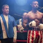 "Sylvester Stallone stars as Rocky Balboa and Michael B. Jordan as Adonis Creed in ""Creed II""."