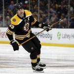 Zdeno Chara will miss 4-6 weeks with a knee injury.