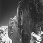 """Monolith — The Face of Half Dome, Yosemite National Park"" by Ansel Adams."