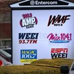 Entercom, which runs several radio stations, has offices in Brighton.