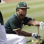 Kyler Murray received a $4.6 million signing bonus from the Oakland Athletics after he was drafted ninth overall.