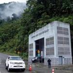 Outside view of the Coca Codo Sinclair hydroelectric power plant in Napo, Ecuador, on November 20, 2018. - According to authorities the assessment of structural damage found in the largest hydroelectric plant in Ecuador, which was built by Chinese company Sinohydro, will take about a year and the audit, that begins in December, will be carried out by the German firm Tuv Sud. (Photo by Cristina VEGA / AFP)CRISTINA VEGA/AFP/Getty Images