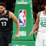 Karl-Anthony Towns considers the Celtics' Al Horford a mentor.