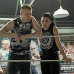 Jack Lowden (left) stars as Zak Knight and Florence Pugh (right) stars as Paige in FIGHTING WITH MY FAMILY, directed by Stephen Merchant, a Metro Goldwyn Mayer Pictures film. Credit: Robert Viglasky / Metro Goldwyn Mayer Pictures © 2018 Metro-Goldwyn-Mayer Pictures Inc.Ê All Rights Reserved.