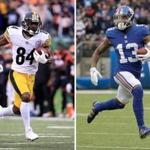 Antonio Brown and Odell Beckham Jr.