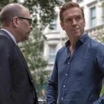Damian Lewis (right) as Bobby
