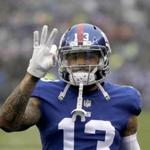 The trade of Odell Beckham will cost the Giants $16 million in dead money.