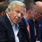 New England Patriots owner Robert Kraft.