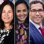 Candidates to serve as Boston's next school superintendent include (from left) former Minnesota education commissioner Brenda Cassellius, Miami-Dade County Public Schools chief academic officer Marie Izquierdo, and Cathedral High School principal and former Randolph schools superintendent Oscar Santos.
