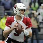 FILE - In this Dec. 30, 2018, file photo, Arizona Cardinals quarterback Josh Rosen drops back to pass against the Seattle Seahawks during the first half of an NFL football game in Seattle. Rosen, supplanted by Kyler Murray as the Cardinals' quarterback of the future after only one season, has been traded to the Miami Dolphins in a deal that also involved two draft picks. (AP Photo/Ted S. Warren, File)