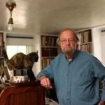 Donald Hall, shown in his childhood home in Wilmot, N.H., in 2006.
