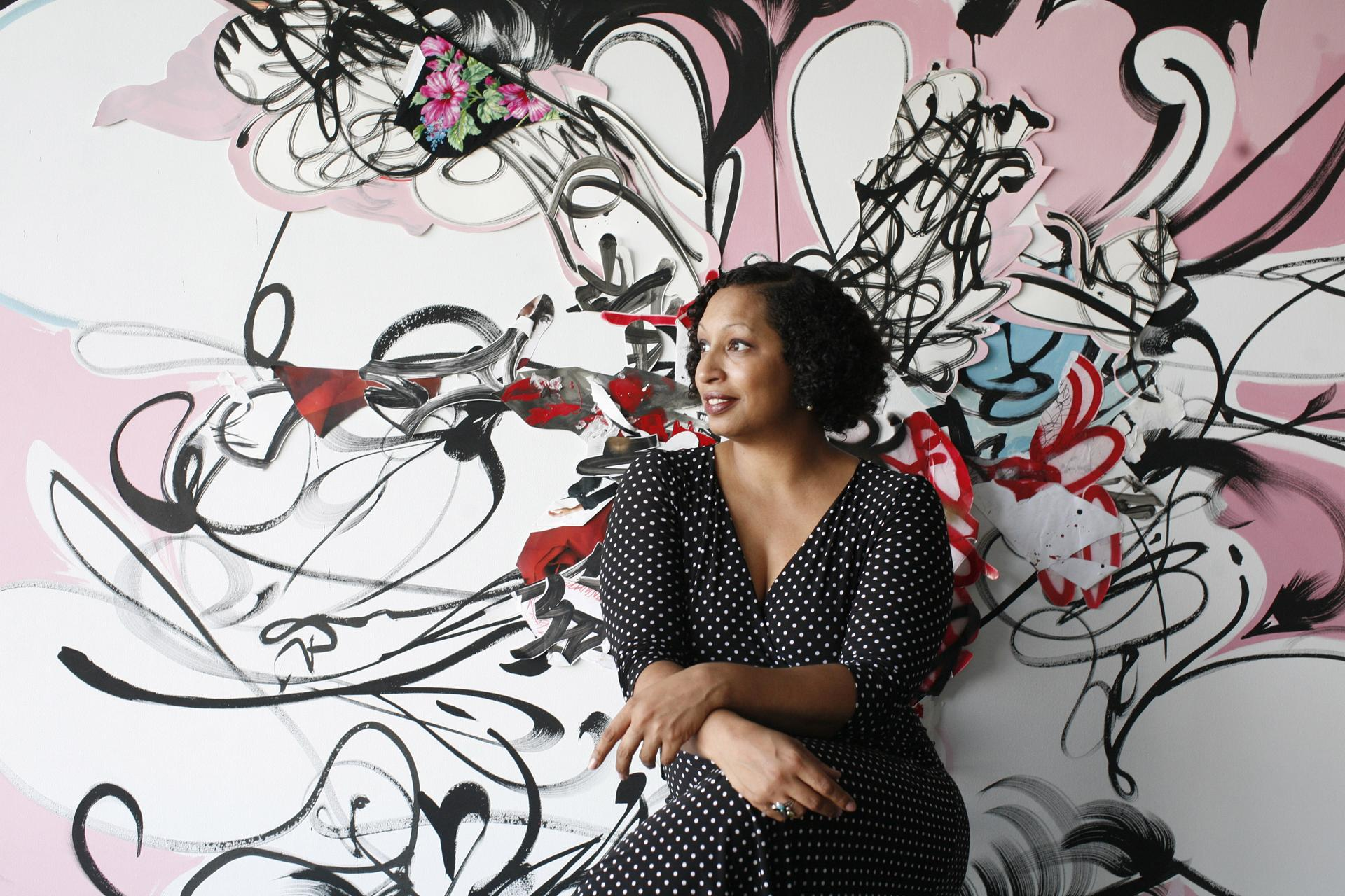 Later This Summer New York Based Shinique Smith Who Uses Bright Colors And