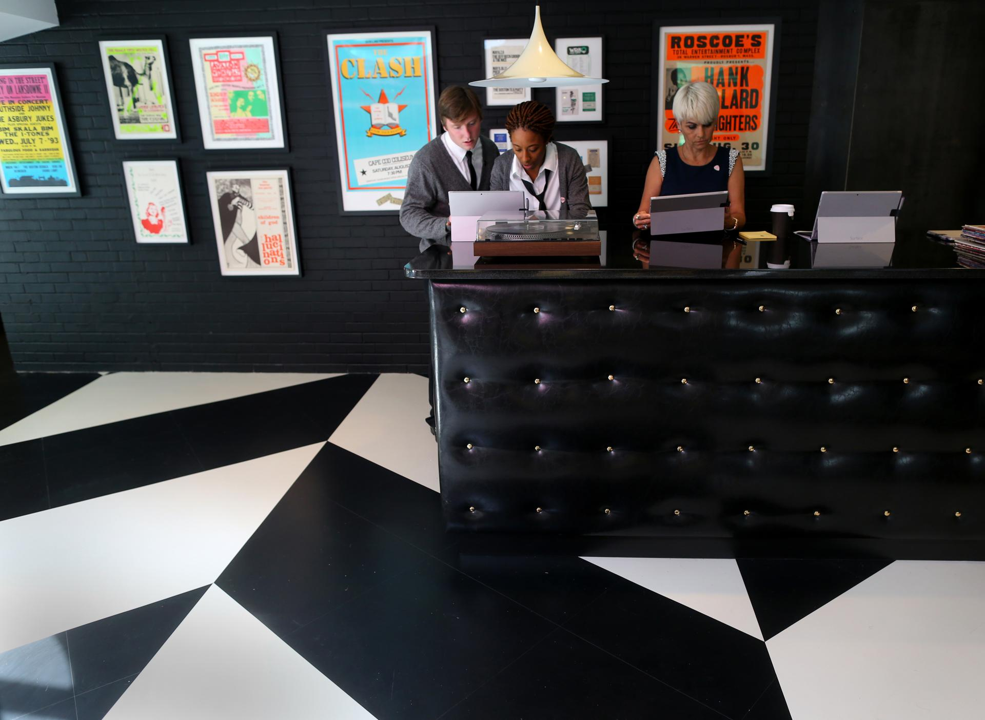 A look at the verb hotel's rock memorabilia and the man who ...