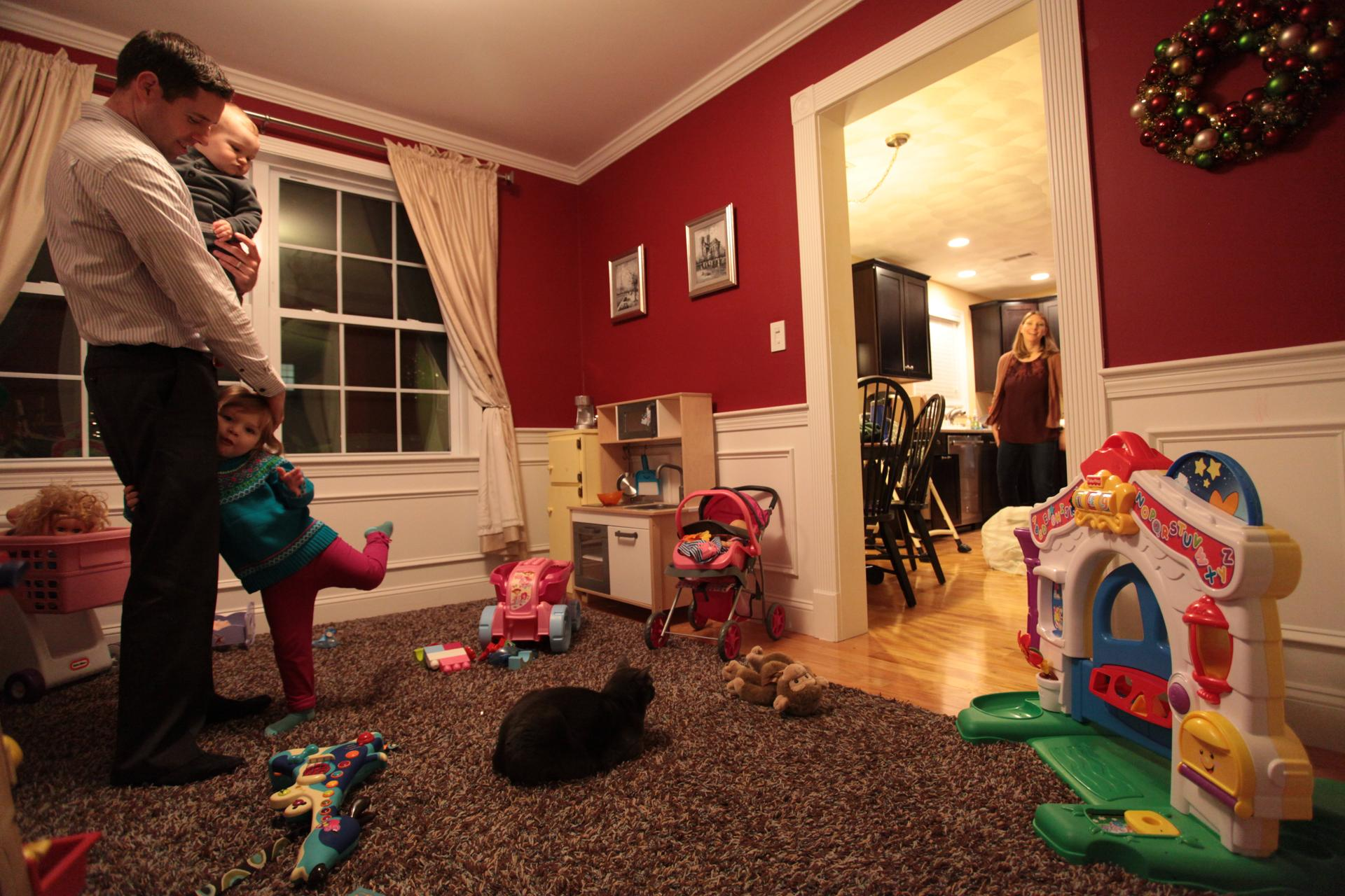Brian And Kate Lyndes Tewksbury Dining Room Is Now A Playroom