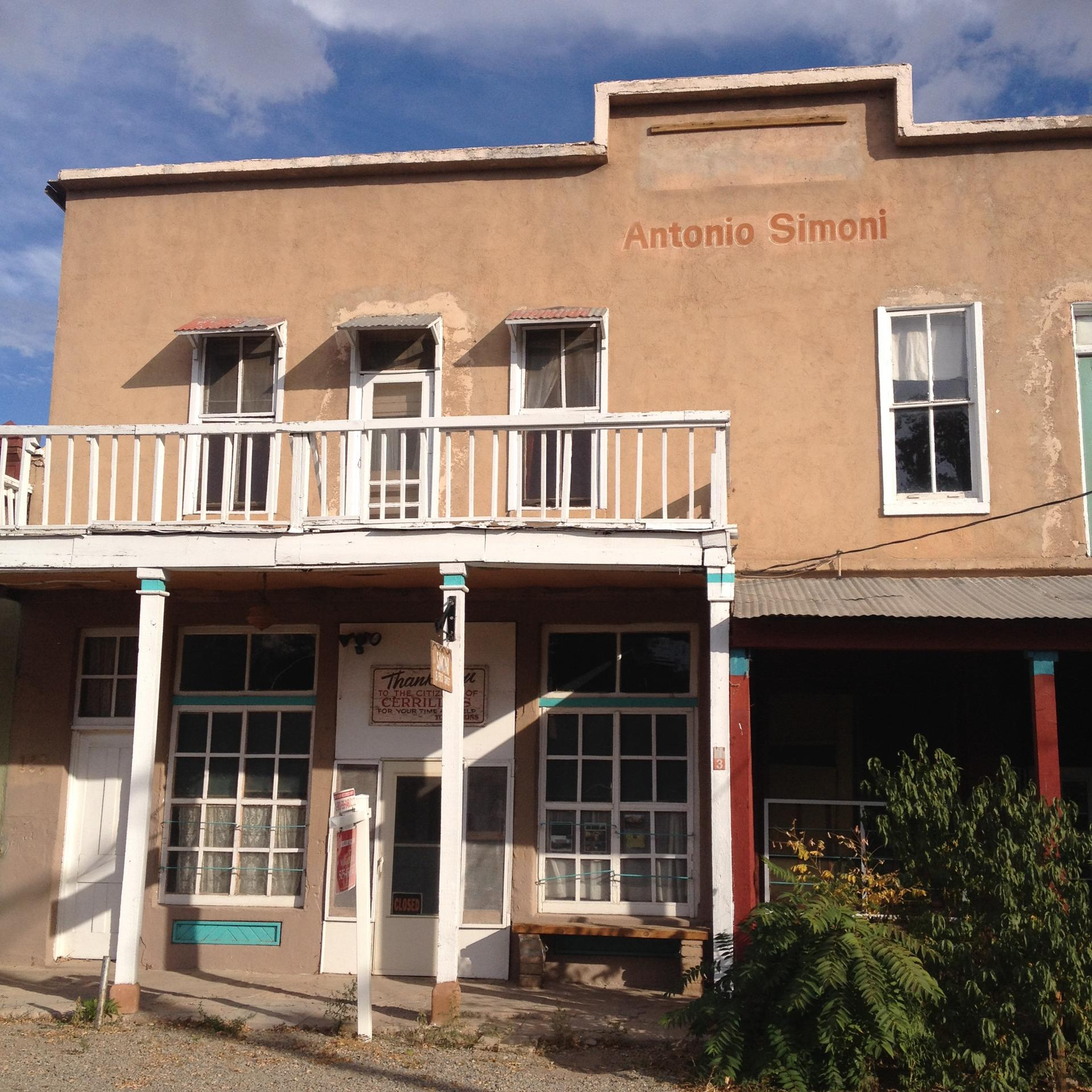 Downtown Cerrillos can resemble a quaint ghost town.