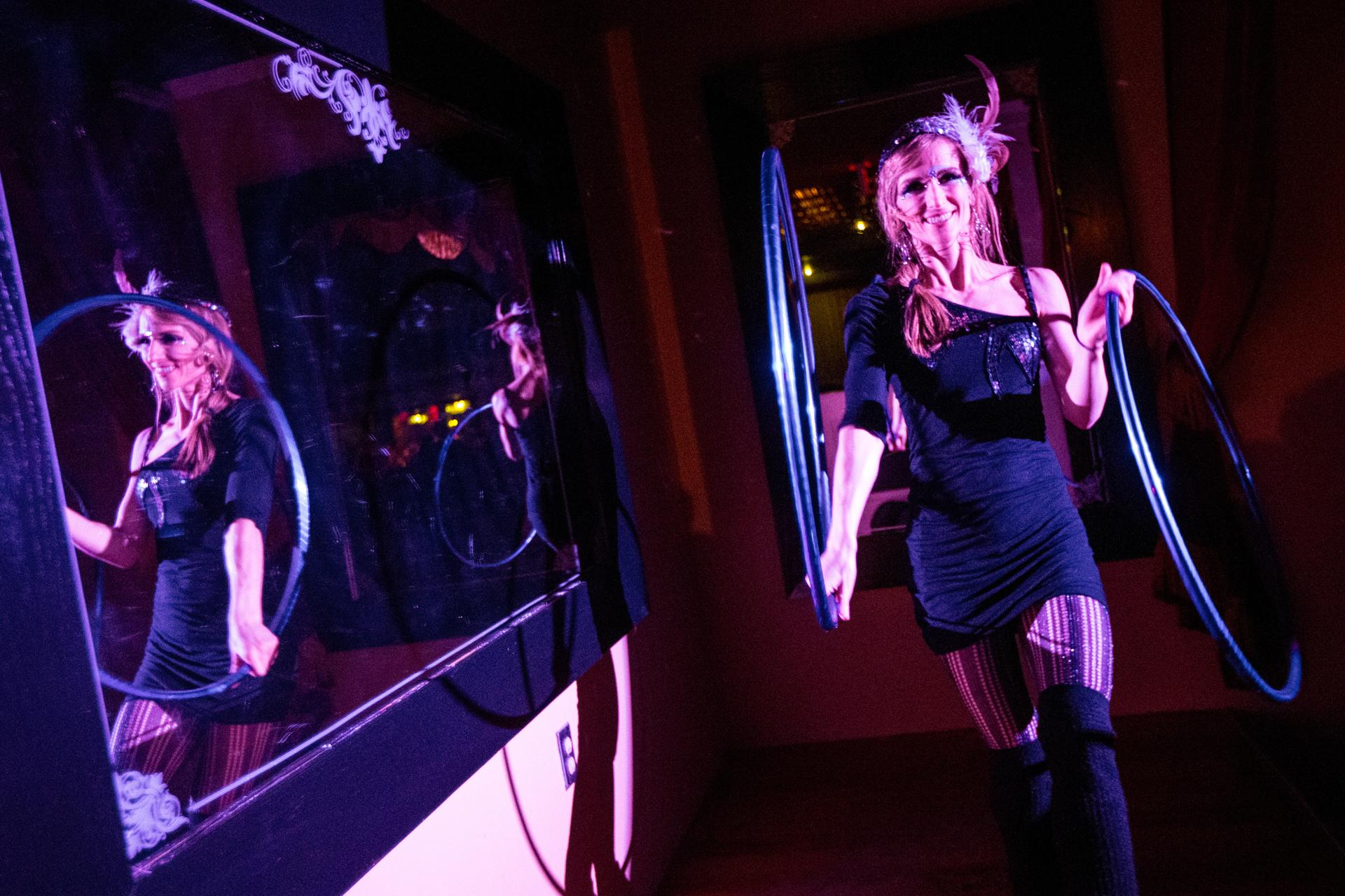 01 03 2015 BOSTON MA Little L Performed During A Soft Opening At