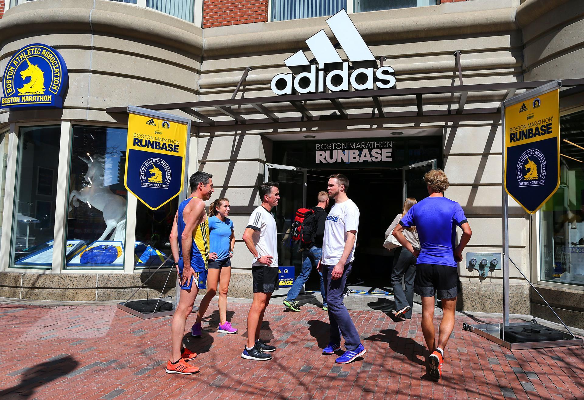 adidas retail store in boston