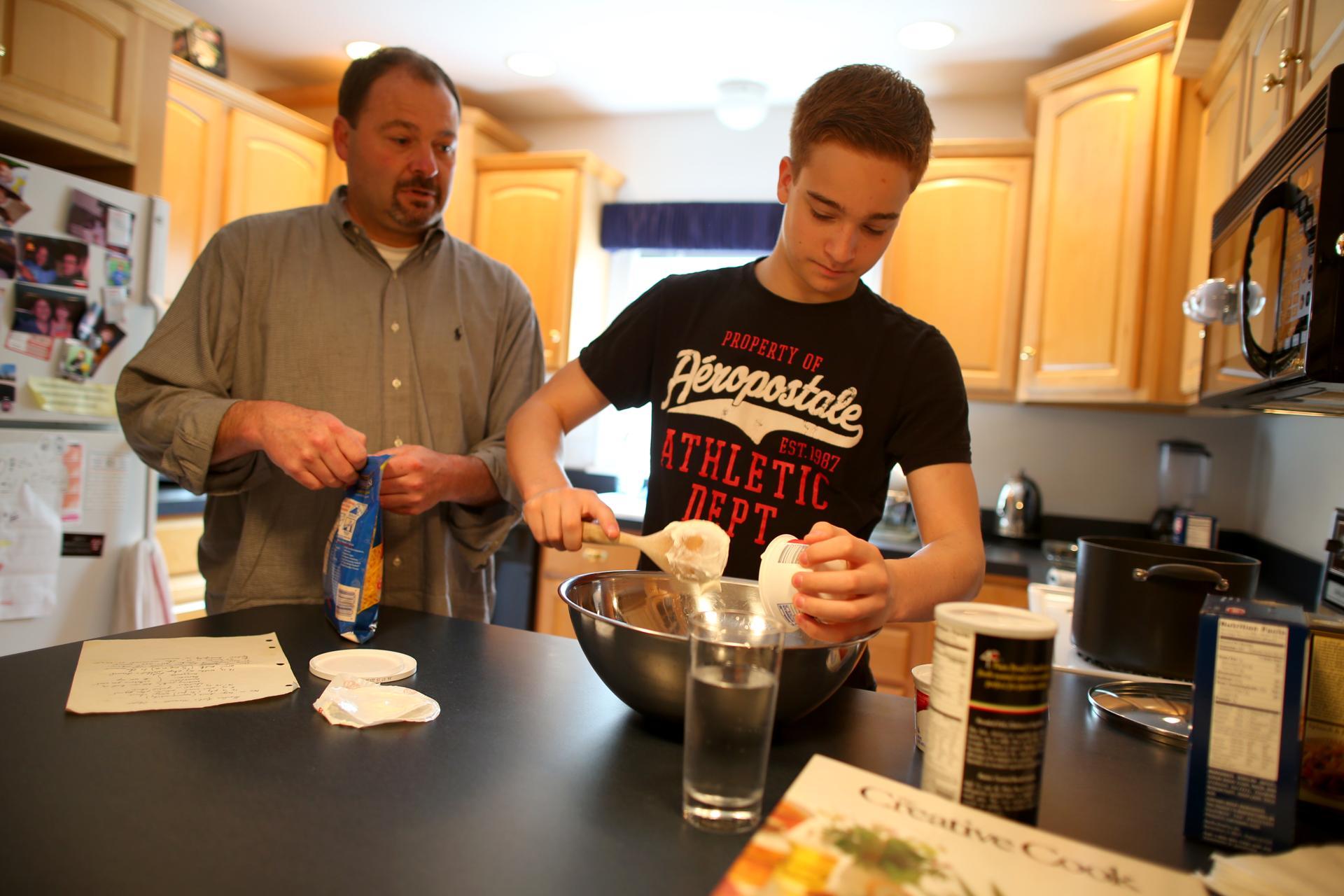 Food-savvy dads at the stove - The Boston Globe