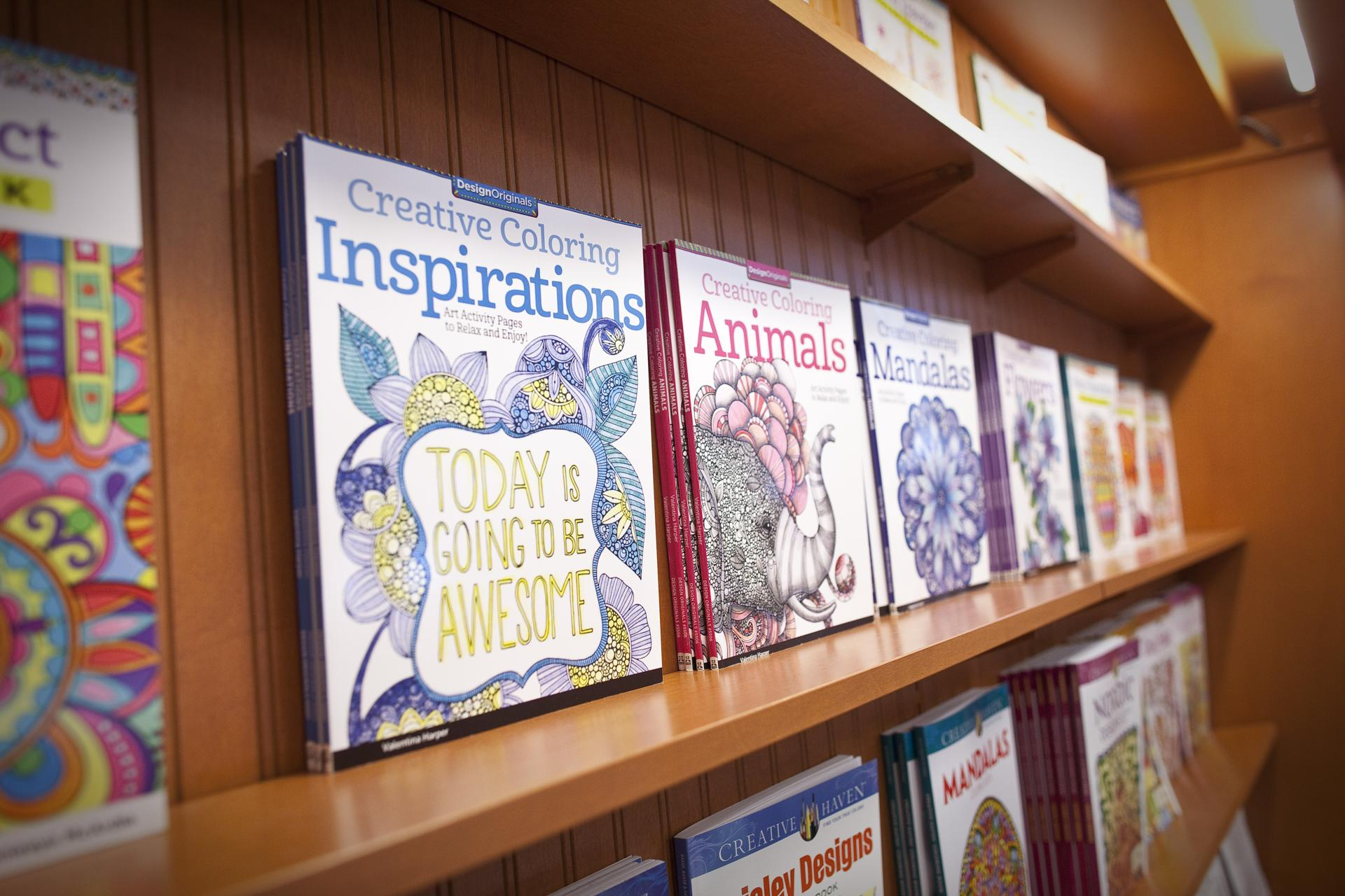 Examples Of The Coloring Books That Are Available