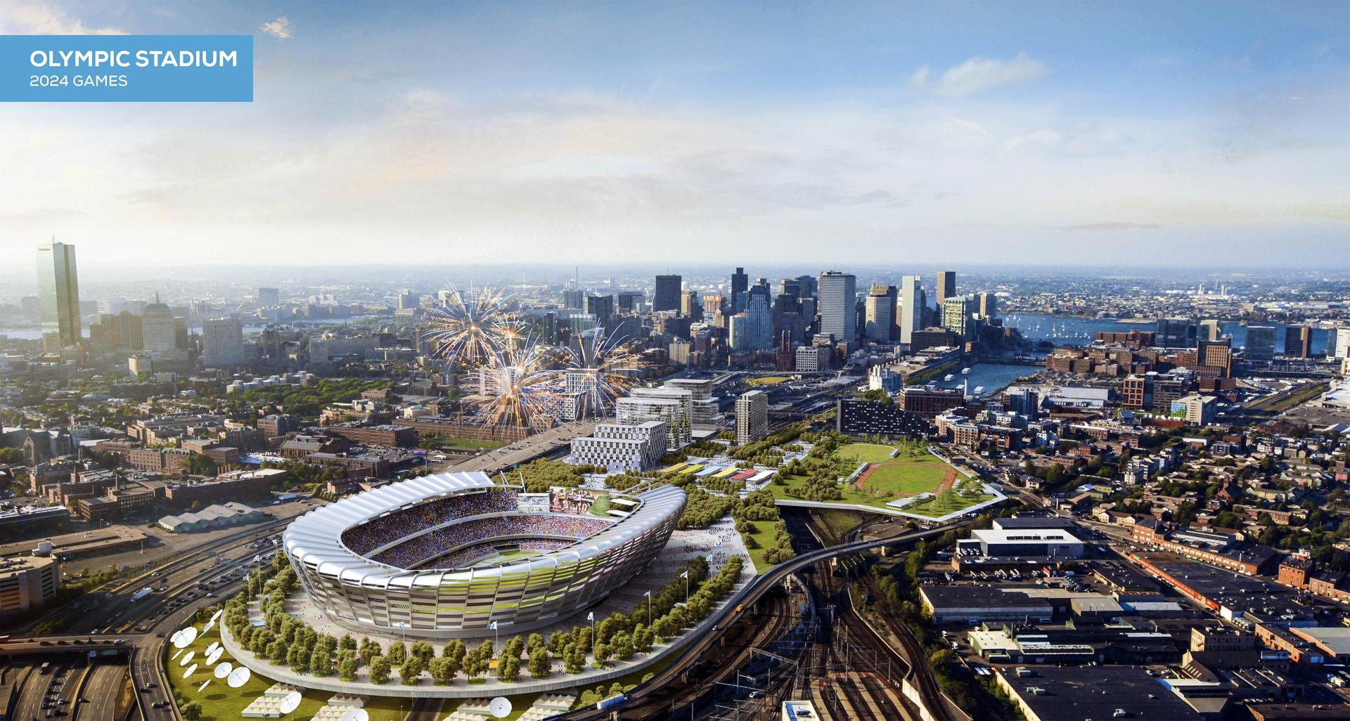 Plan for temporary Olympic stadium may be in Boston's favor - The ...