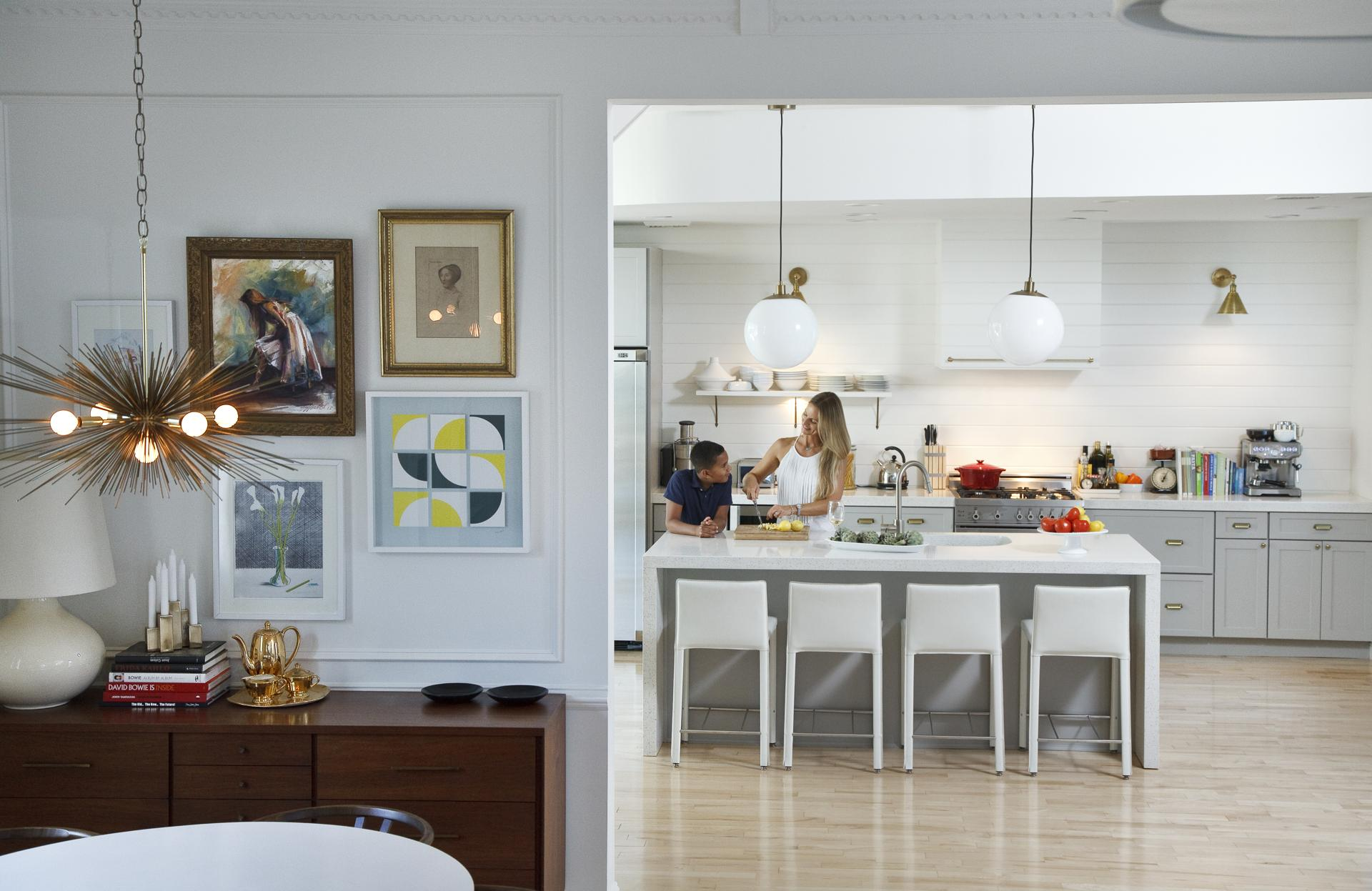 Fixer upper carriage house kitchen - 8 19 2015 Dorchester Ma For Magazine Melissa Miranda