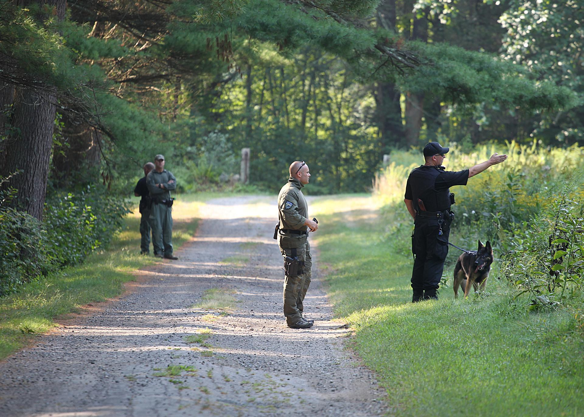 part time millis police officer who fabricated shooting account to millis police continued searching thursday for suspects near the cedariver reservation after officer bryan johnson