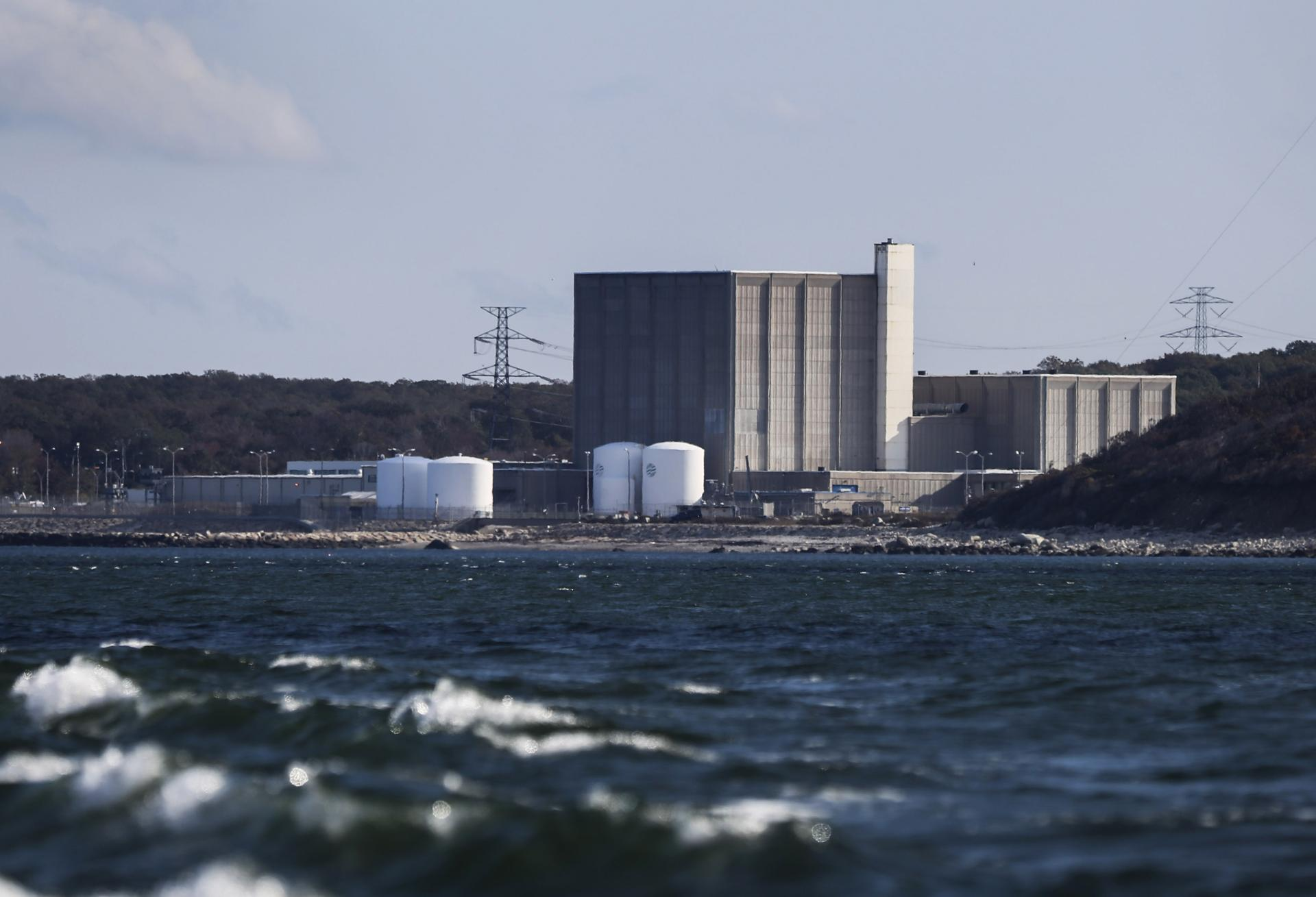 The Pilgrim Nuclear Power Plant In Plymouth