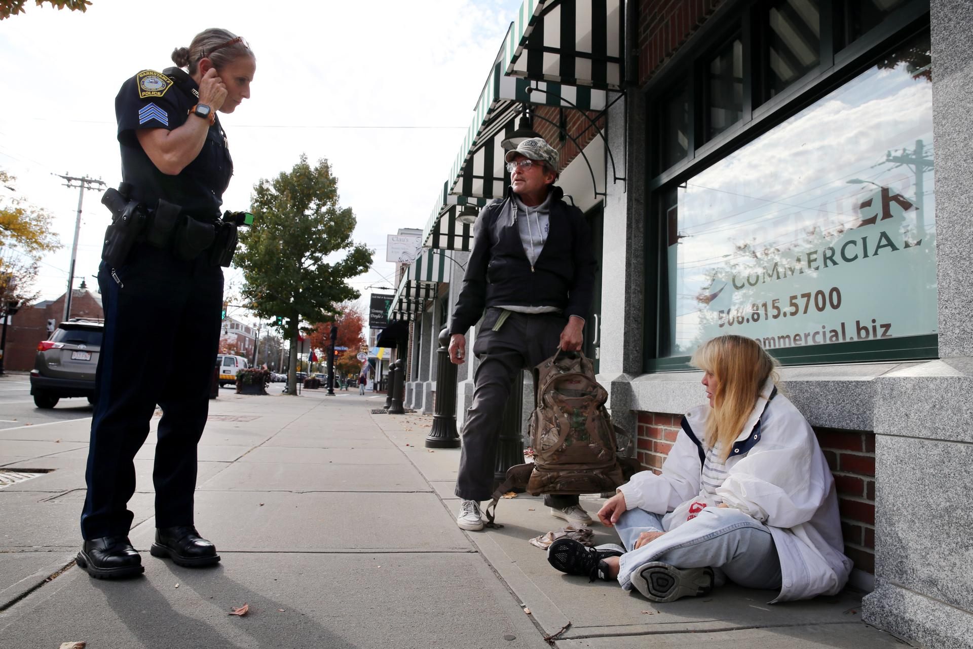 Image result for police and homeless