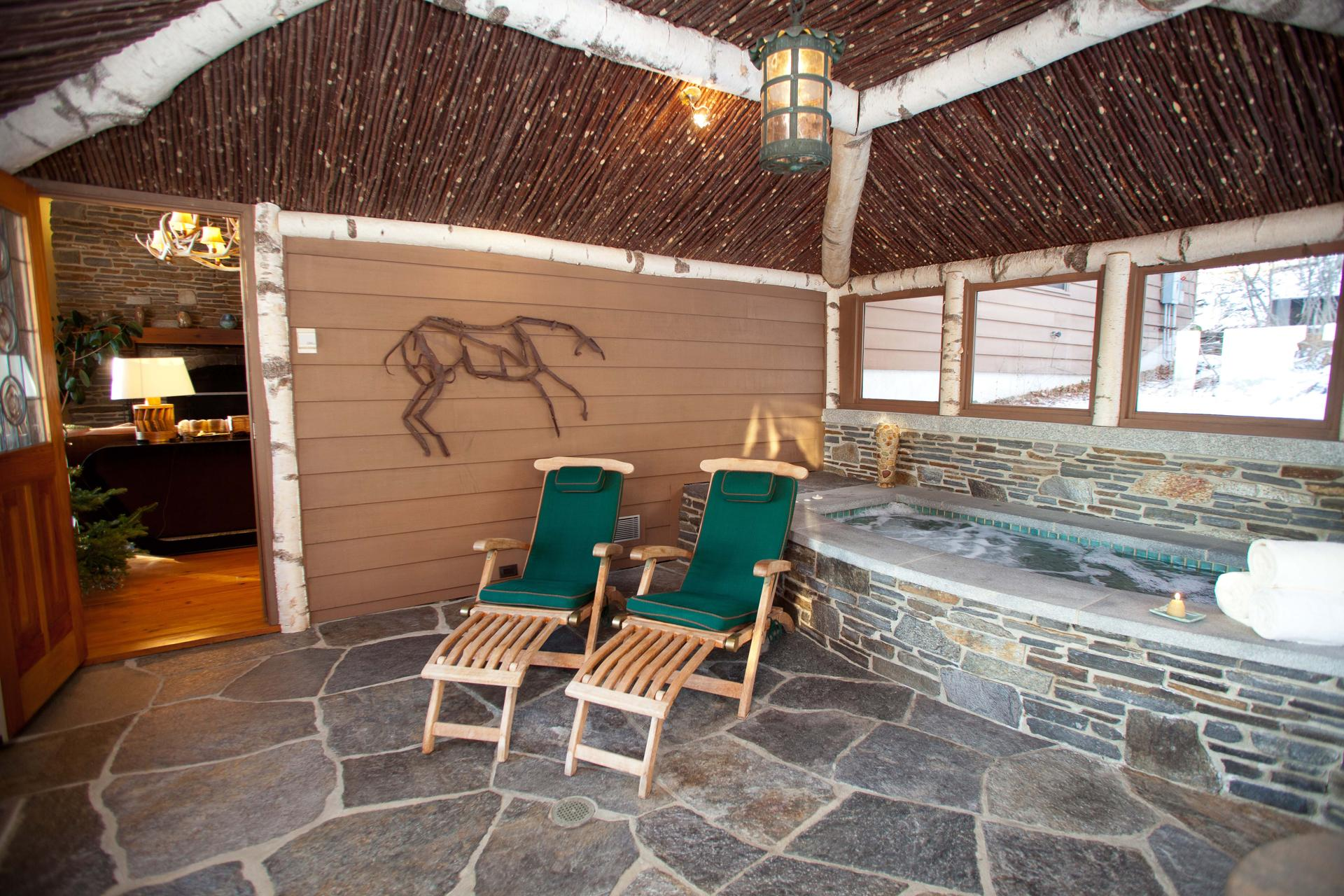 Hit the slopes, then take it easy in luxury in Vermont - The ...