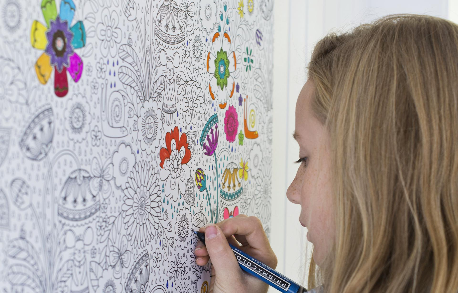 Captivating Coloring Book Wallpaper Ideas