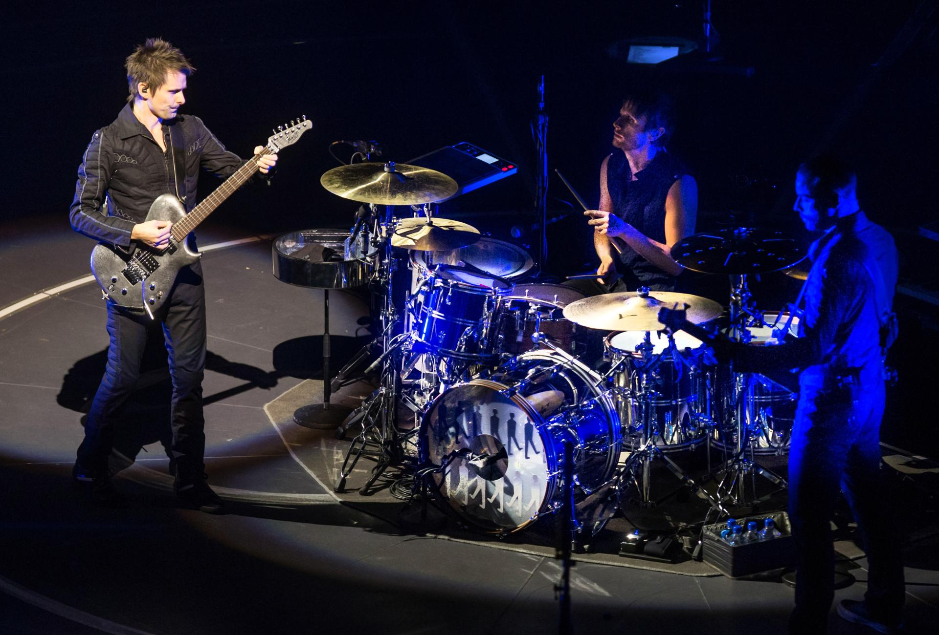 Muse performed at the TD Garden in Boston.