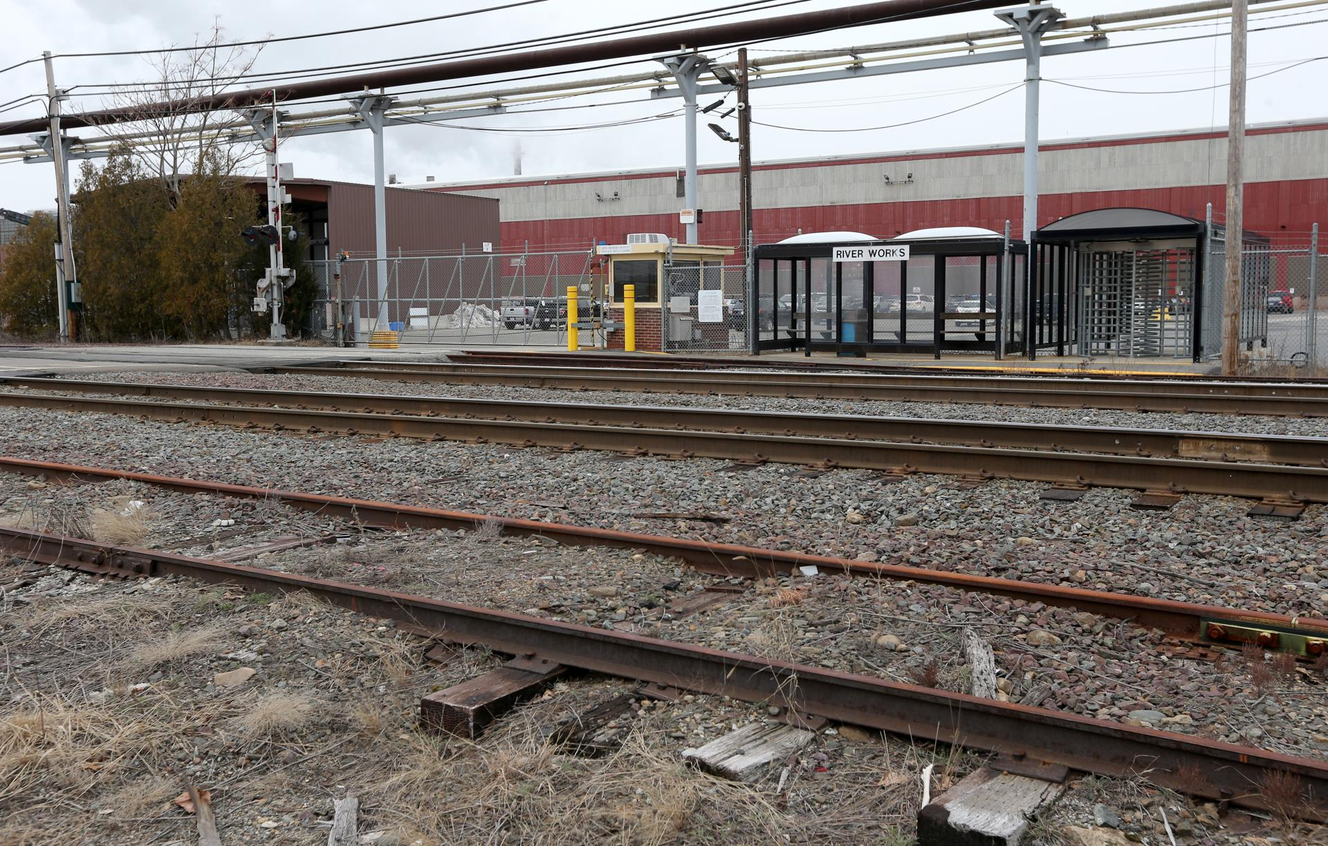 This commuter rail station is not for you (unless you work for GE ...