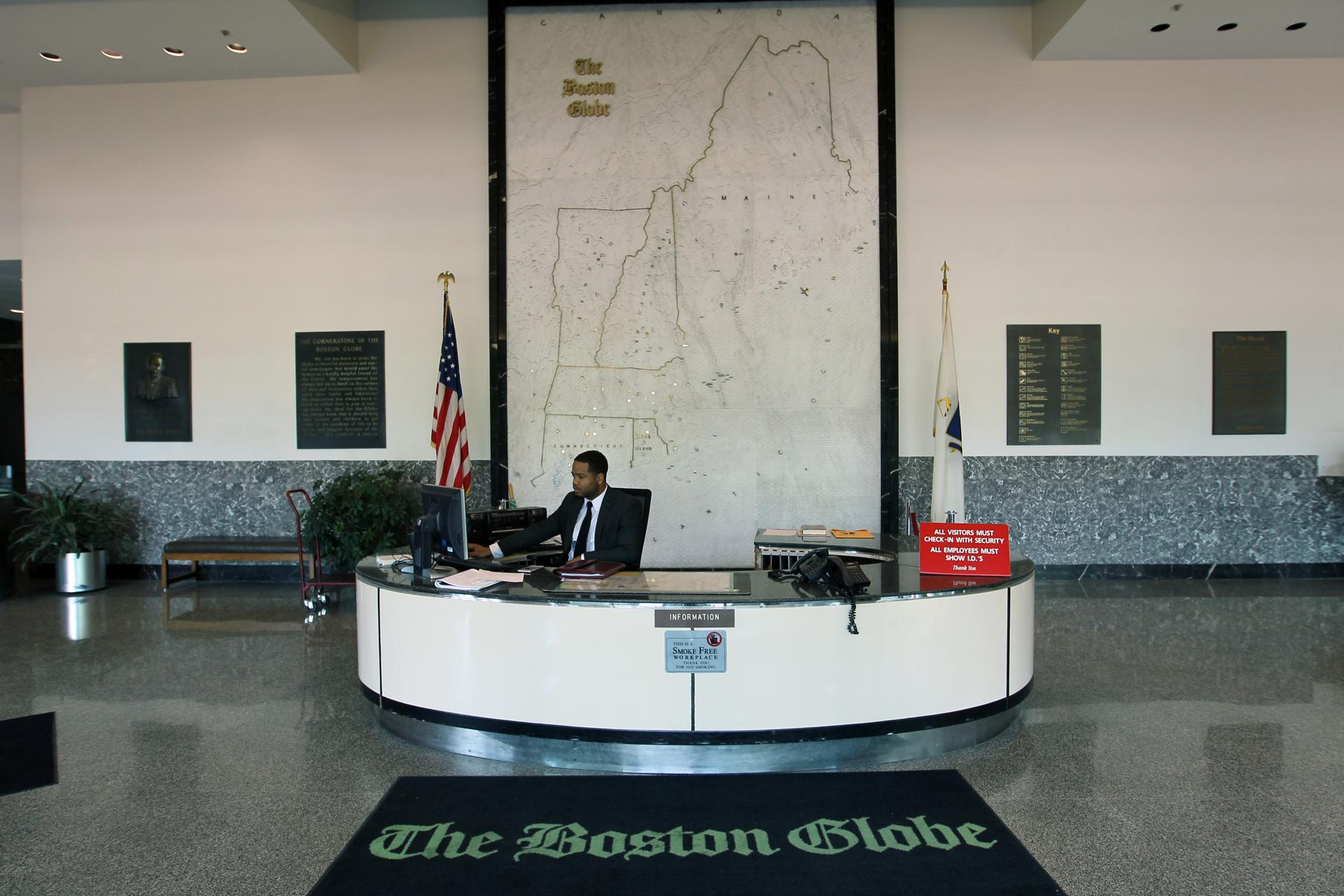 The Large Map Which Was Created For Federal Reserve Bank Of Boston In