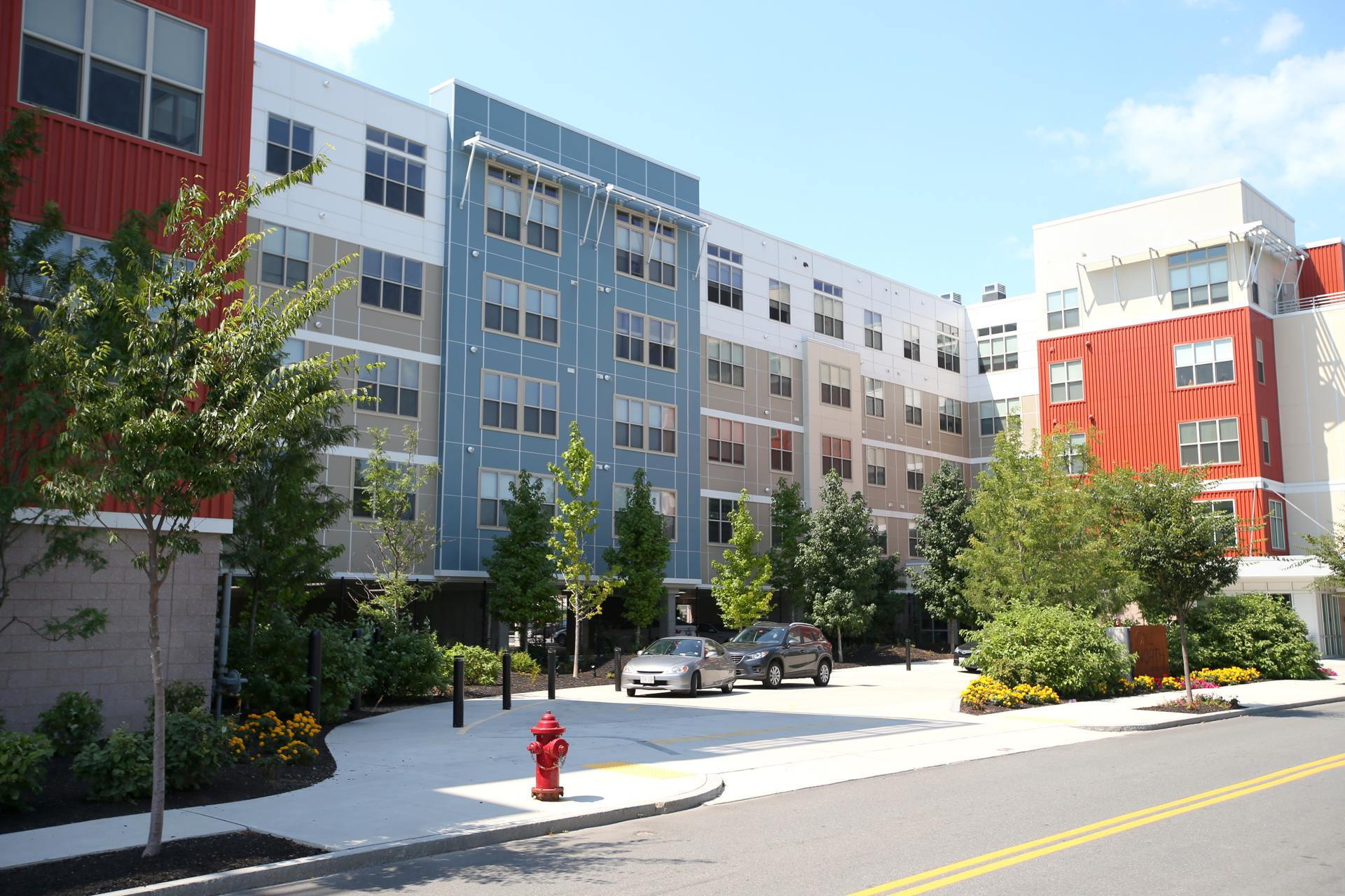 The One North of Boston opened its first building at 100 Heard St. (above) in 2014. Since opening, the complex has retained 62 percent of its tenants.