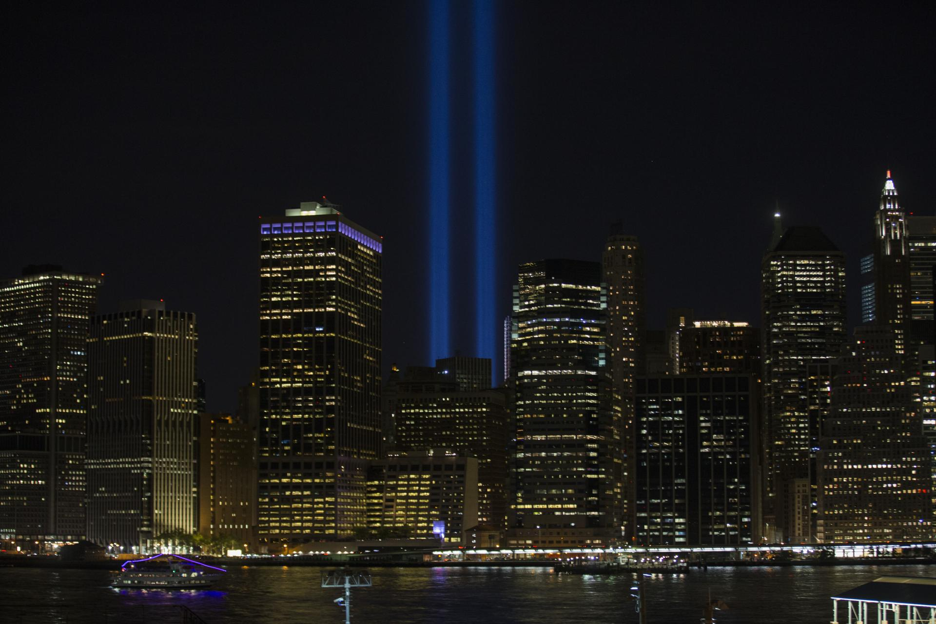 NYC's 'Tribute in Light' beams for Sept. 11 anniversary - The ...