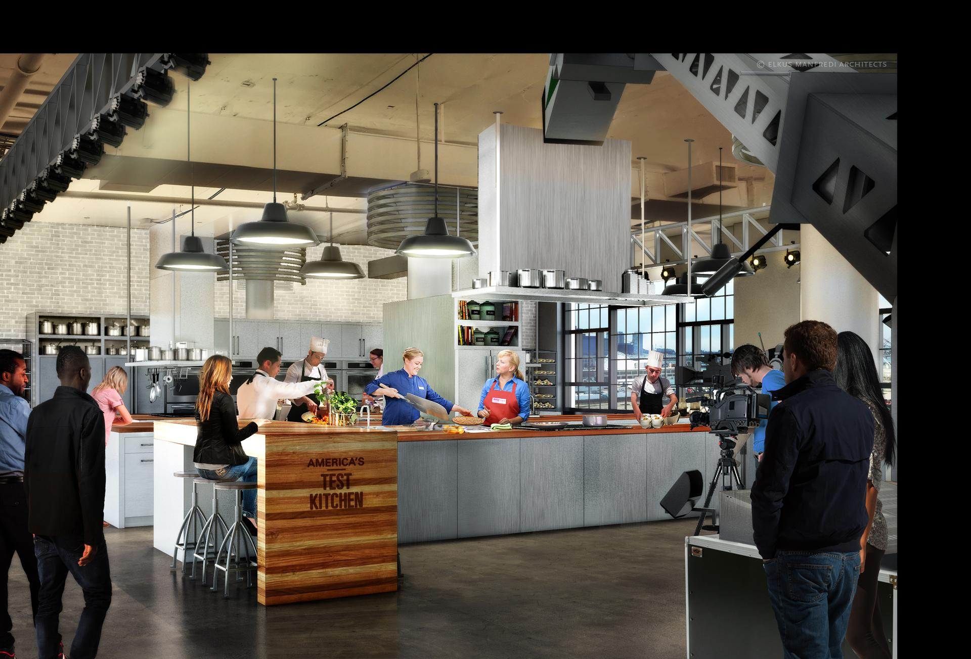 Test Kitchen Design America's Test Kitchen Will Relocate To The Seaport  The Boston Globe