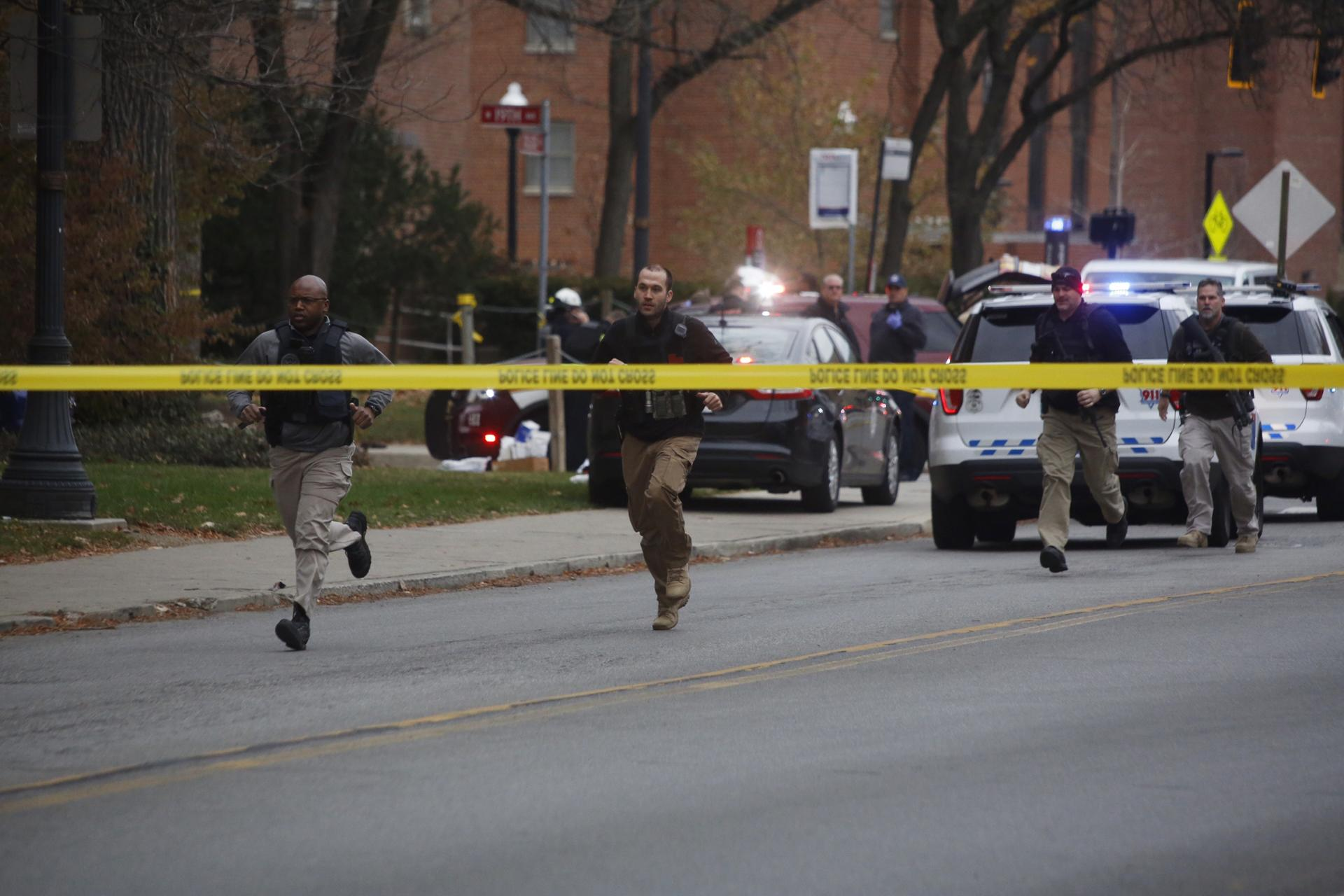photos report of active shooter at ohio state university the