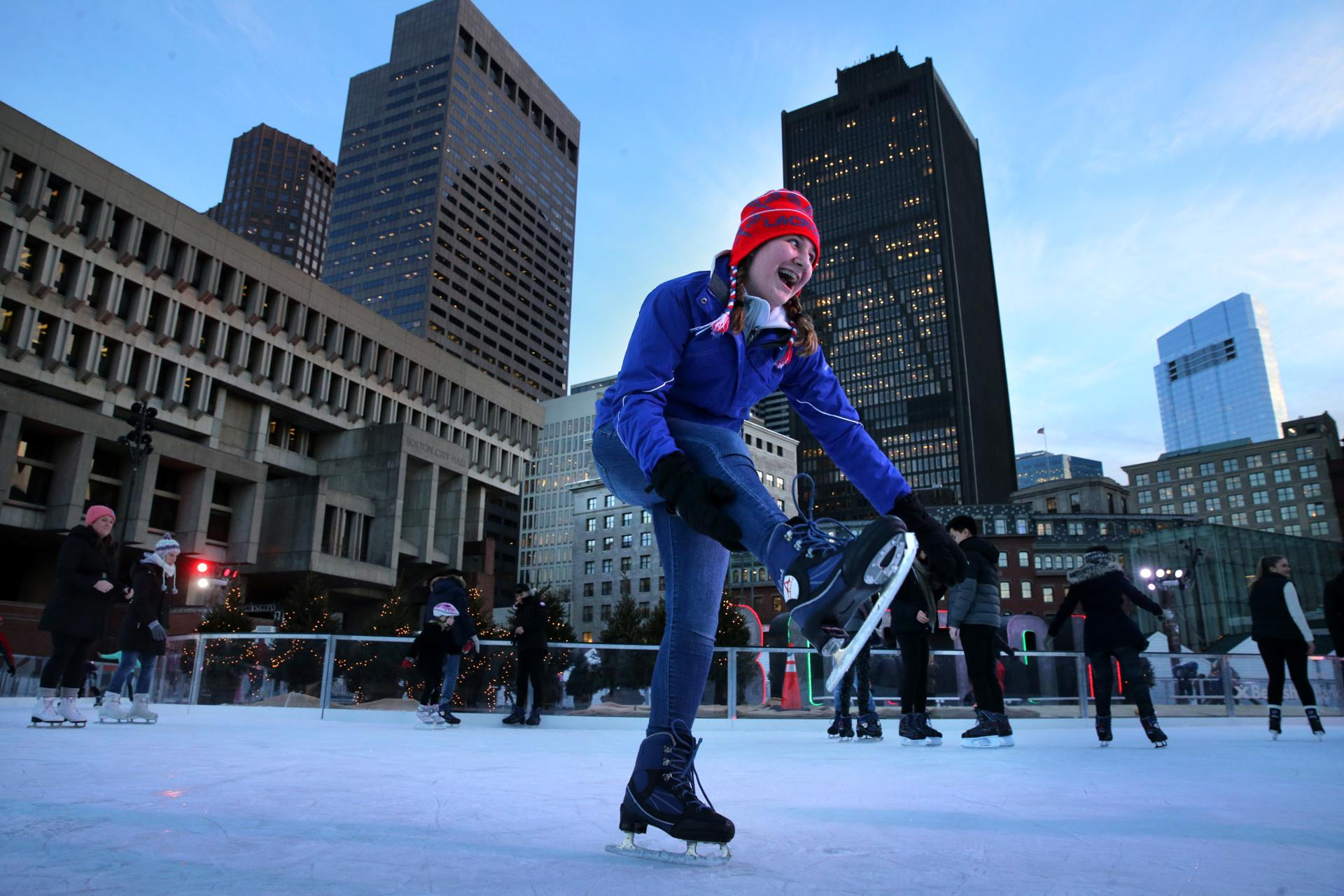 is u0027boston winter u0027 the best thing to happen to city hall plaza
