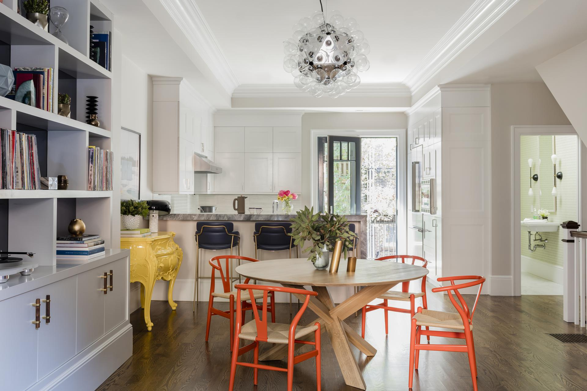 A South End Triplex Goes From Bland To Beautiful