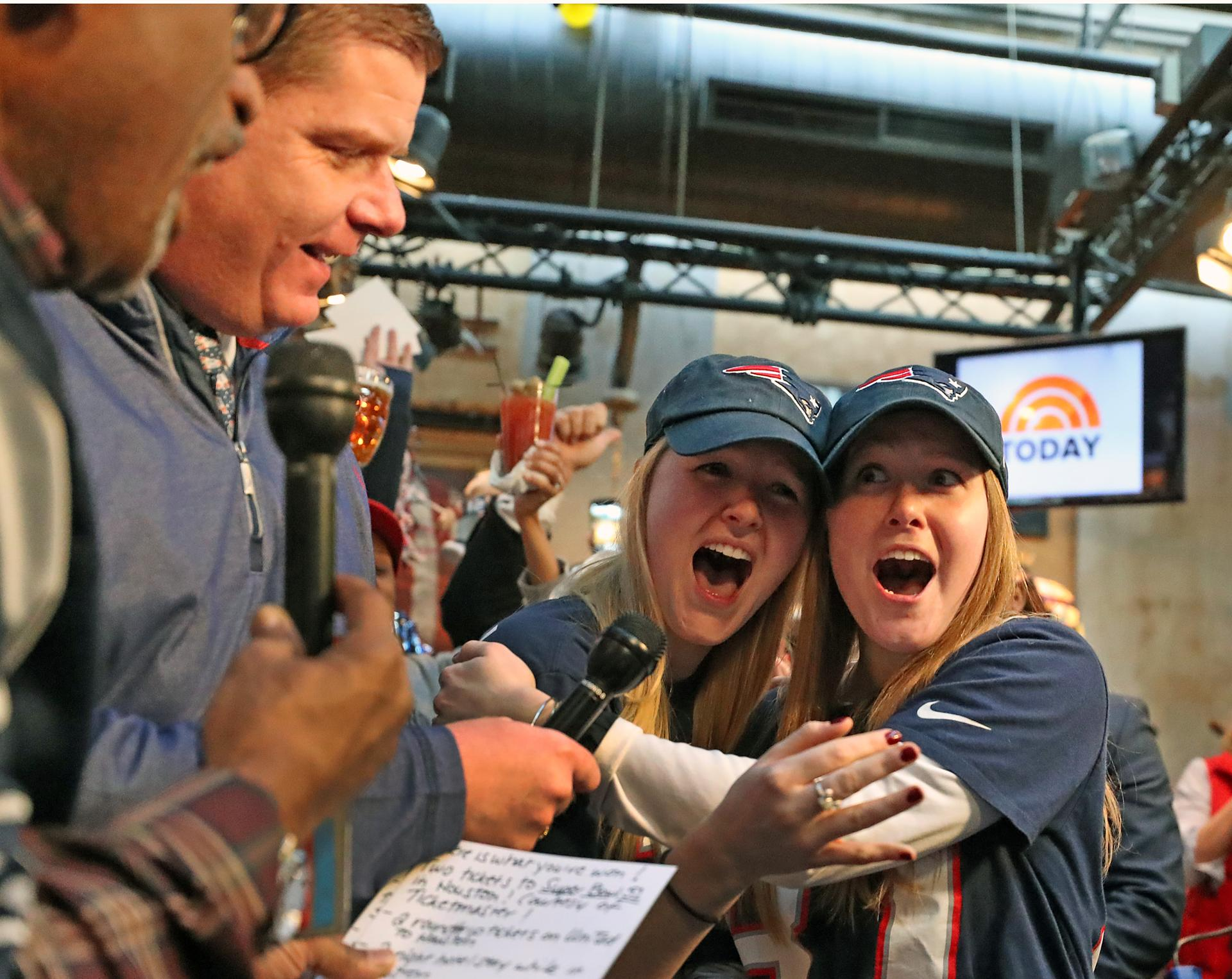 see the reaction after twins from easton win super bowl tickets