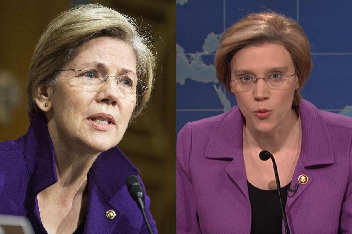 Senator Elizabeth Warren targeted by 'Saturday Night Live' - The ...